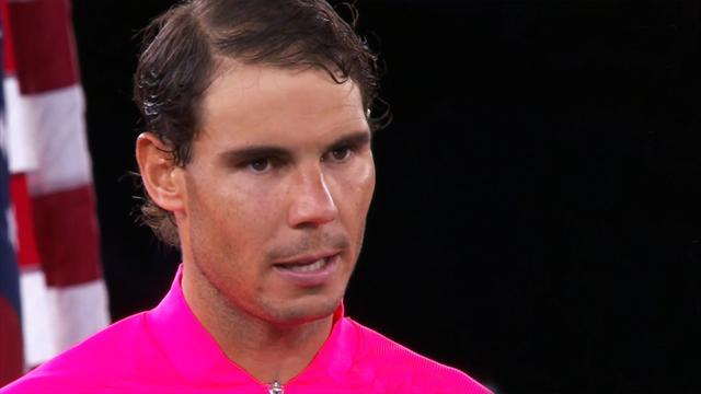 """Bewegende Worte von Champion Nadal: """"Ich trauere mit den Opfern"""""""