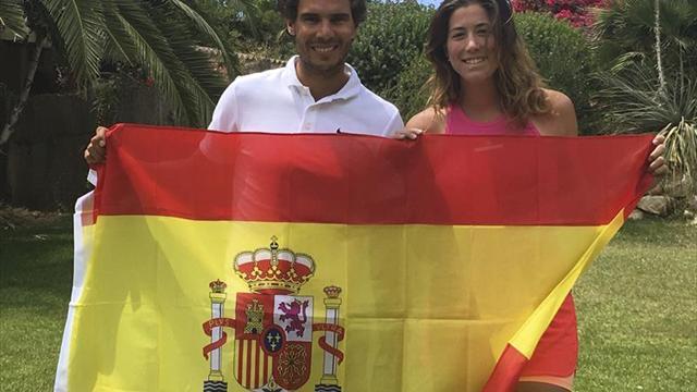 Rafa Nadal y Garbiñe Muguruza firman un número uno para la historia del tenis español