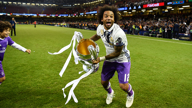 Marcelo signs Real Madrid contract extension