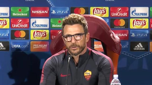 """Di Francesco: """"Dovremo ispirarci all'Atletico per poter battere Simeone"""""""