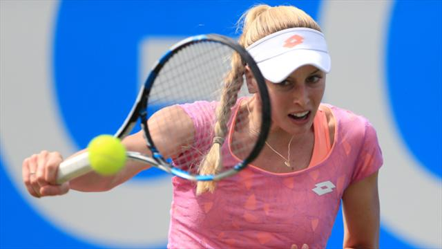 Naomi Broady advances in Quebec