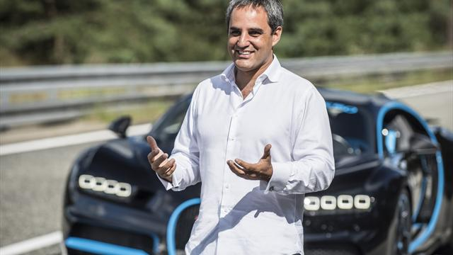 Монтойя установил мировой рекорд по разгону с места на Bugatti Chiron