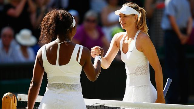 """Sharapova: """"Io e Serena Williams dovremmo essere amiche. Ma non lo siamo"""""""