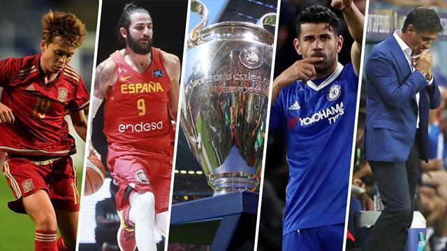 La Champions, Ricky, el Fútbol femenino, Míchel y Diego Costa, los nombres del día