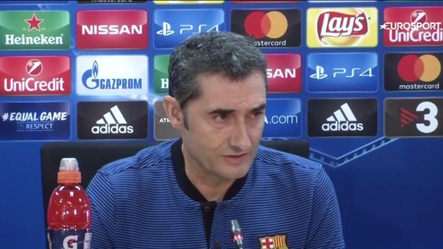Barca boss Valverde hails 'powerful' Juventus