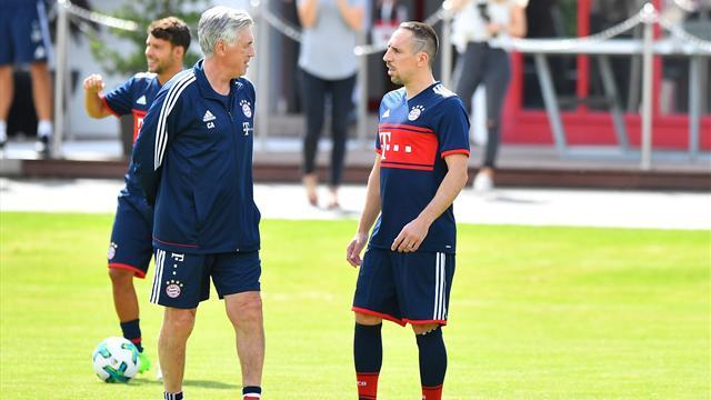 """Ancelotti: """"Ribéry eine Pause zu geben, war ein Fehler"""""""