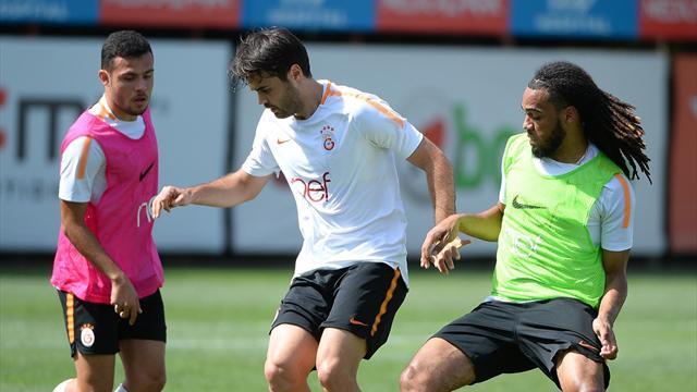 Galatasaray antrenmanında tek eksik