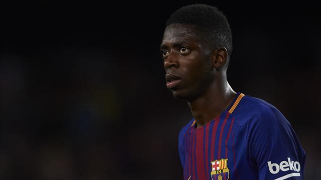 Dembélé encore titulaire avec le Barça