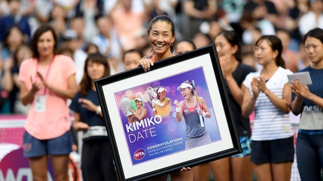 Mit 46 Jahren: Japanerin Date beendet Tenniskarriere