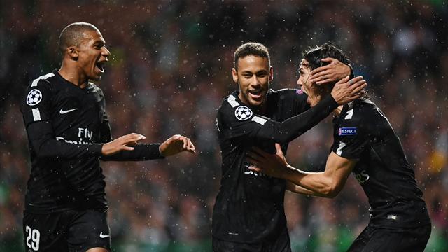 Neymar, Mbappé et Cavani ont marqué : tous les buts de Celtic – PSG en vidéo