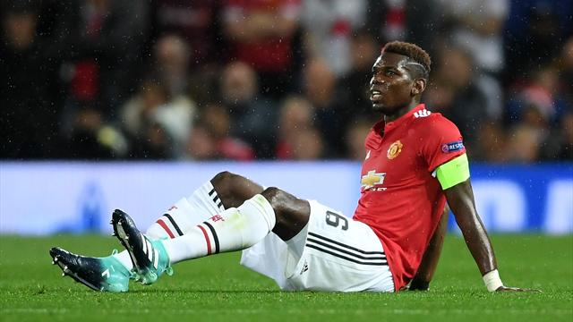 Pogba out for up to six weeks with hamstring injury – reports
