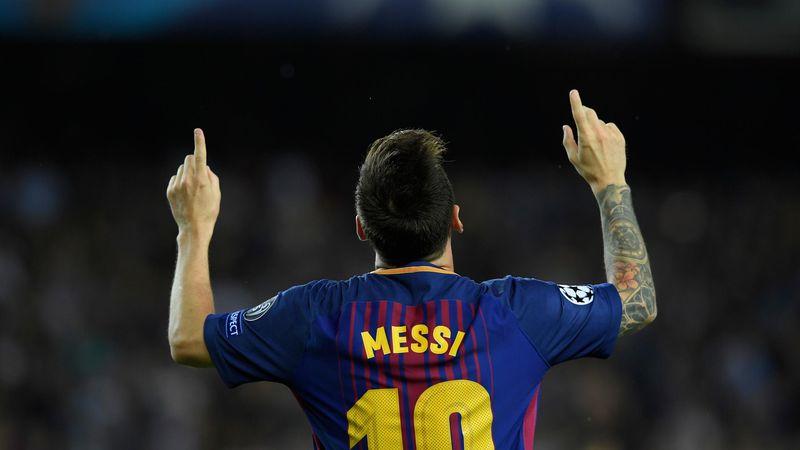 Lionel Messi Barcellona Juventus 2017