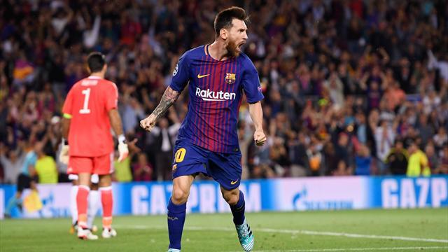 Juventus-Barcelona: Con un empate sería suficiente (20:45)