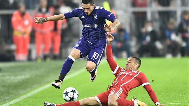 Bayern Munich vs. Anderlecht: Duelo en Allianz Arena por Champions League