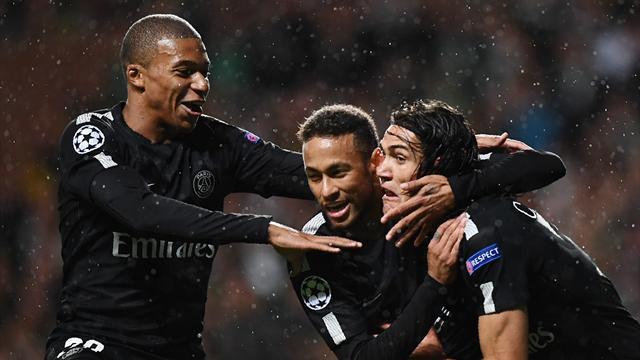 Neymar : ''C'est facile de jouer avec des joueurs intelligents comme Mbappé ou Cavani''