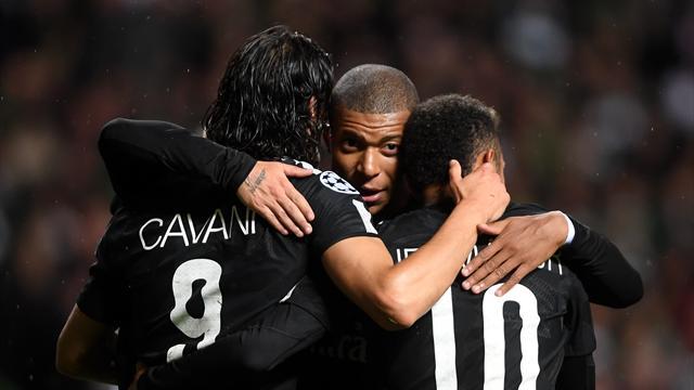 Le #CroisonsLes exceptionnel entre Cavani, Mbappé et Neymar