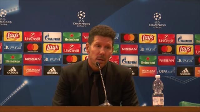 """Simeone: """"Piano per la partita quasi perfetto; Roma grandissima squadra"""""""