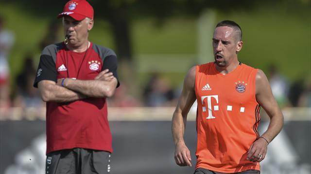 """Ancelotti nach Ribéry-Ausraster: """"Kann seine Reaktion nicht verstehen"""""""