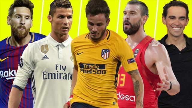 Messi, Cristiano, Saúl y el Atlético, Marc Gasol y Contador, los nombres del día