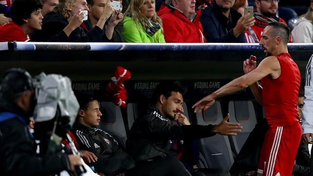 """Ribéry : """"Le jet de mon maillot mouillé n'a rien à voir avec un manque de respect"""""""
