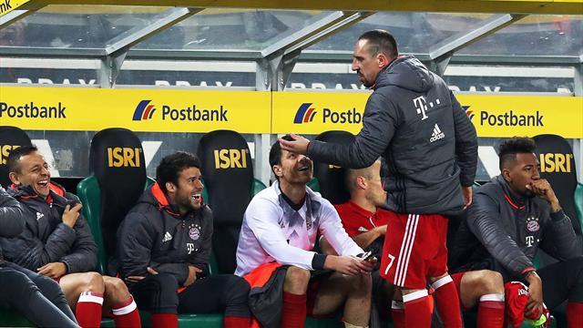 Die Auswechslungs-Ausraster des Franck Ribéry