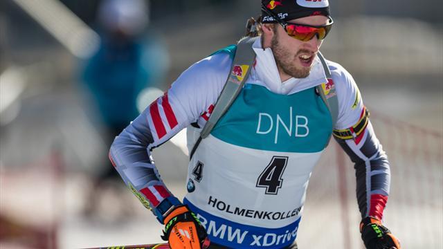 Biathlon: Österreicher Landertinger wird an Lendenwirbelsäule operiert