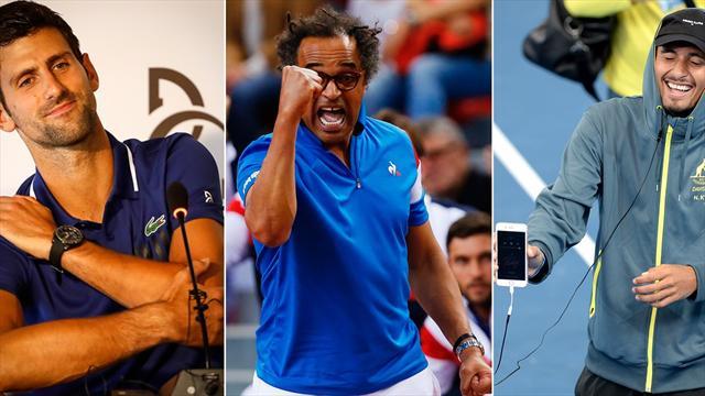 Copa Davis 2017: Sin Djokovic, pero con Noah y Kyrgios