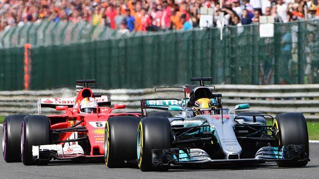 Jäger Vettel gegen Jetsetter Hamilton: Alles auf Null in Singapur