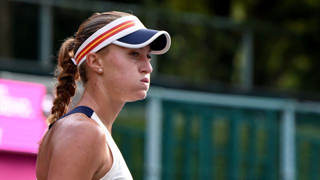 WTA - Tokyo - Mladenovic perd 6-0, 6-0 contre Wang, 57e
