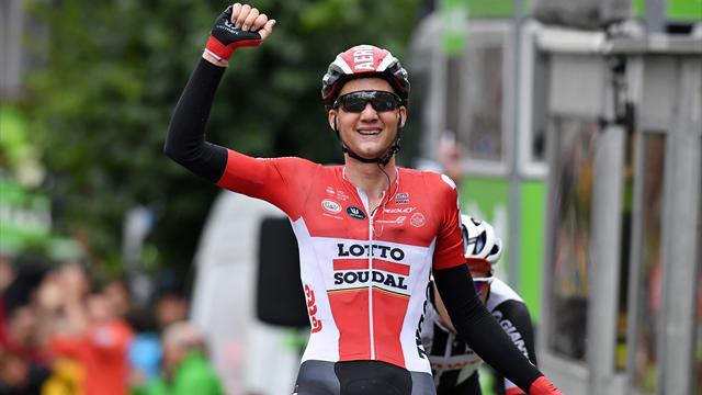 Gaviria puissance 4, Wellens vainqueur final — Tour de Guangxi