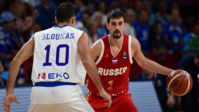 La Russie en demi-finales en battant la Grèce