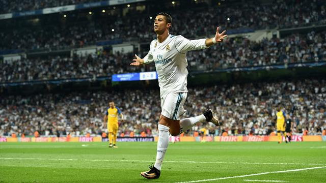 Two more for Ronaldo as holders Real cruise to victory
