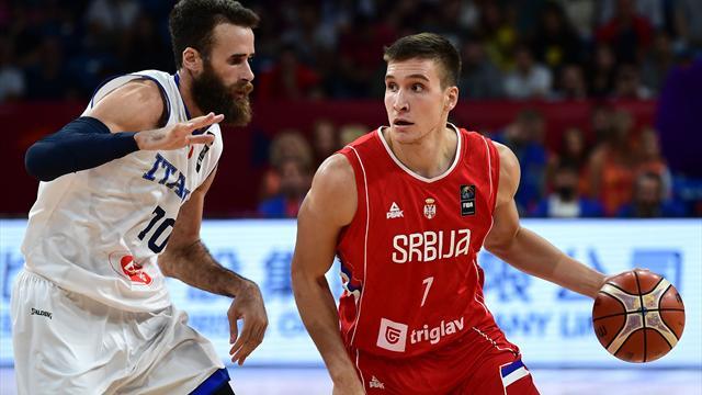 Eurobasket 2017 (cuartos de final), Italia-Serbia: Regreso al pasado (67-83)