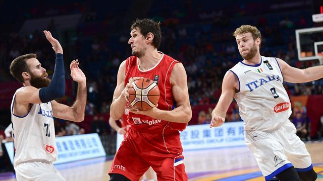 Serbia sorprende a Italia (67-83) y jugará ante Rusia la segunda semifinal