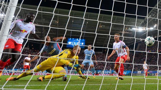 L'opportunisme de Tielemans, le coup de canon de Forsberg : les buts de Leipzig - Monaco en vidéo