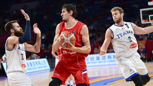 Europei basket, l'Italia saluta la competizione: passa la Serbia