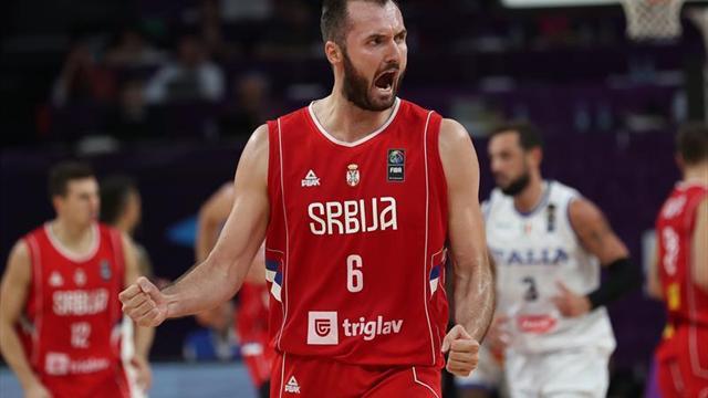 Rusia y Serbia jugarán la segunda semifinal