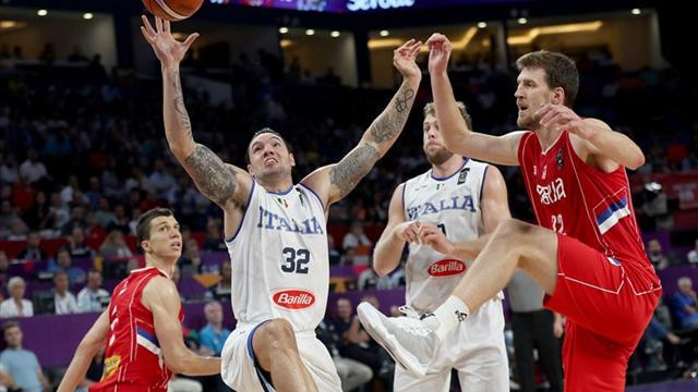 67-83. Serbia se cita con Rusia en semifinales tras superar a Italia