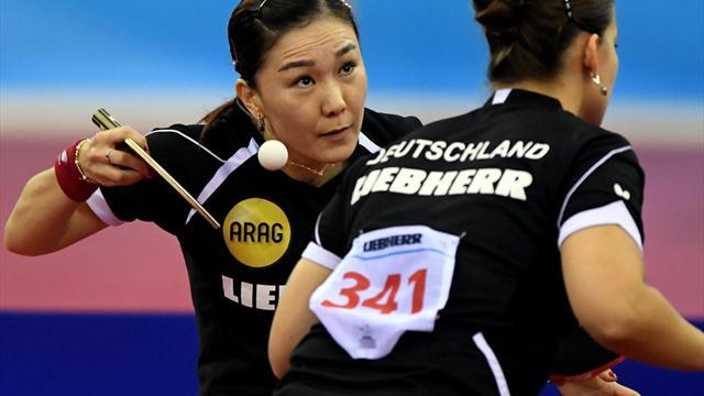 Deutsche Damen im Finale: Nervenschlacht bei Tischtennis-EM