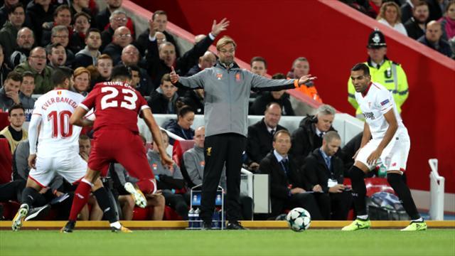 Liverpool boss Jurgen Klopp plays down full-time row with Sevilla coaches
