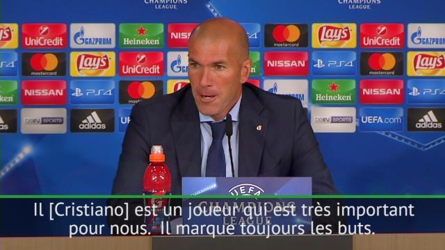 """Zidane: """"J'espère que, dimanche, nous jouerons notre dernier match sans Ronaldo"""""""