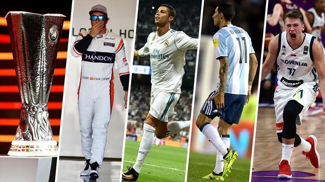 Cristiano, Di María y el divorcio McLaren-Honda, los nombres del día