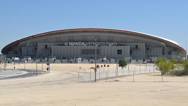 Las impresionantes imágenes del nuevo estadio del Atlético de Madrid