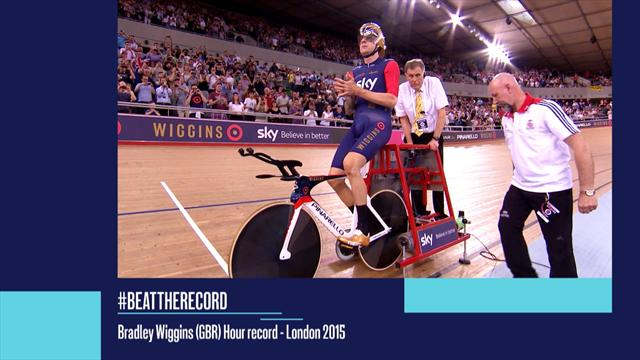 #BeatTheRecord - Wiggins smashes hour mark in London