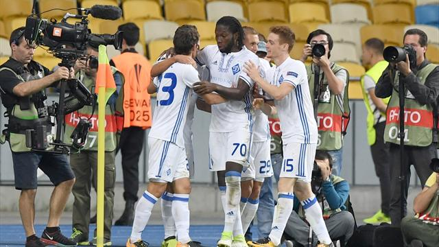 Киевское «Динамо» упустило преимущество 3:0 над «Зарей», команды забили 8 мячей