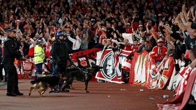 L'Emirates Stadium envahi par de nombreux supporters allemands sans billets