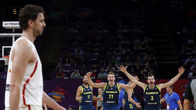 Eurobasket 2017 (semifinales), España-Eslovenia: Doncic, Dragic, Randolph, apagón y adiós (72-92)