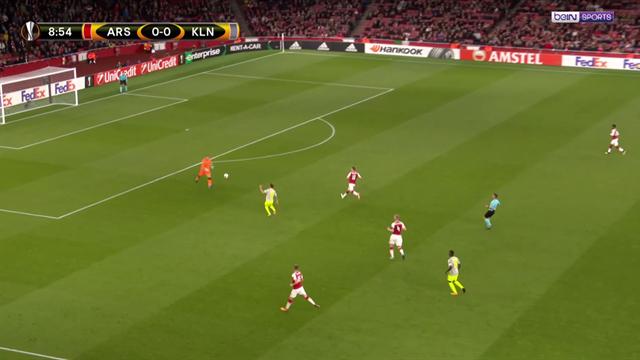 Le magnifique lob de 40 mètres de Cordoba (Cologne) face à Arsenal