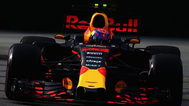 Red Bull and Ferrari set pace in Singapore practice