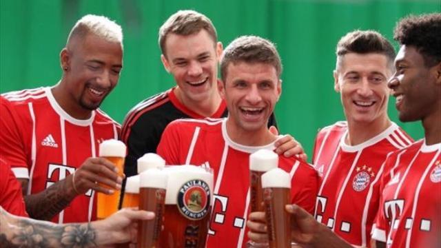 Social Bundesliga: Wiesn-Stimmung, Müller-Party und Ribéry-Versöhnung